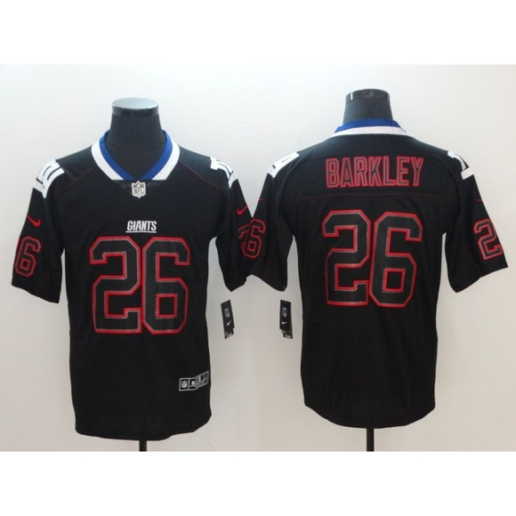 new style a9ab0 9c69a New York Giants Saquon Barkley Jersey (4) NWT